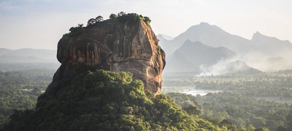 Visit Sigiriya rock fortress & Dambulla cave temples. Day trip from Kandy